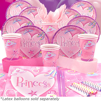 birthday party themes for little girls is the princess party theme